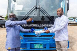 MINISTER FOR EDUCATION HANDS OVER 120 BUSES TO SHSs