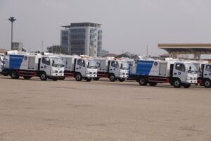 Atomisers Displayed at the Fleet & Equiment Exhibition by Zoomlion Ghana