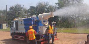 Ahead of Reopening: Disinfrction of Schools underway in Bono East Region