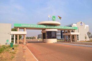 Main Entrance of University for Development Studies