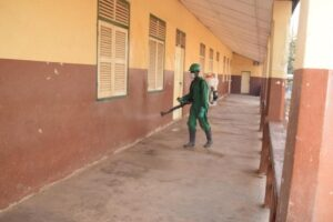 Mass Disinfection Exercise Hits Basic Schools In Ashanti Region