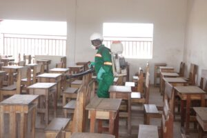 4th Phase of Schools Disinfection Underway In Eastern Region