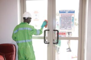 Zoomlion Launches Free  Disinfection Exercise.....Starts At GAFCS