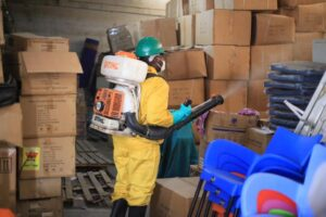 Prisons Service Benefit From Zoomlion Free Community Disinfection