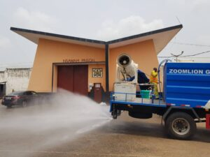 Zoomlion's Free Community Disinfection Campaign: Nsawam Prison Benefits