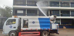 50 police facilities disinfected in Bono Region