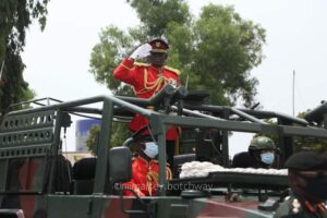 Outgoing Chief of the Defence Staff (CDS), Lt. Gen. Obed Boamah Akwa