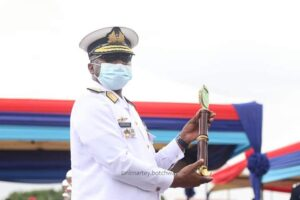 New Chief of Defence Staff (CDS), Rear Admiral Seth Amoama, taking over from Lt. Gen. Akwa