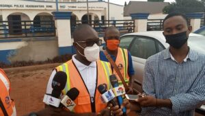 Regional Manager for Zoomlion Ghana Limited for the Bono East Region, Mr George Manu