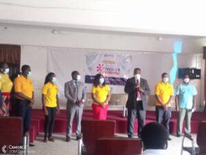 UPSA Inaugurates COVID-19 Ambassadors to Educate Students on Campus