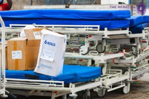 The Rebecca Foundation Donates Hospital Beds and Consumables to Kaneshie Polyclinic