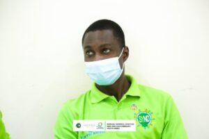 SYND Nat. Coordinator, Mr. Ezekiel Chibeze