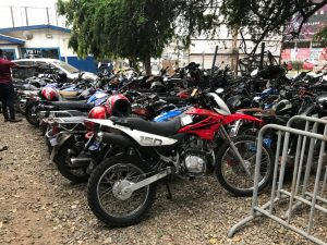 CrimeCheck: Ghana Police Service sizes 394 Motorbikes in Greater Accra