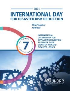 GNDR Holds International Day For Disaster Risk Reduction