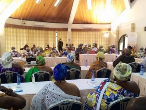 Cross section of Queen Mothers at the One-day training on prevention of teenage pregnancy